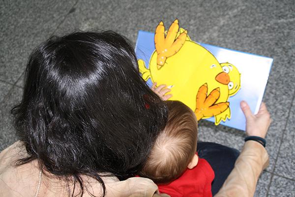 Compartir lecturas con niños y jóvenes