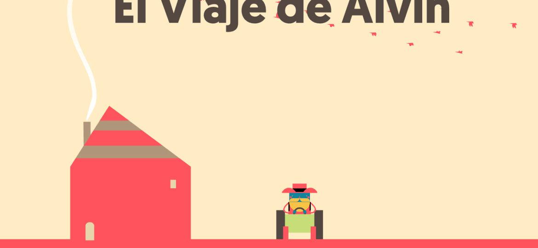"""El viaje de Alvin: una """"road-app"""" para niños"""