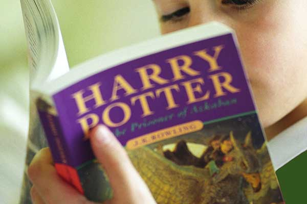 Lectura de Harry Potter