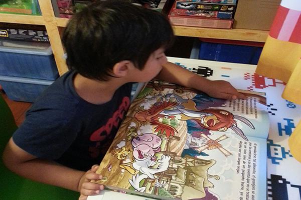 Leer estimula el aprendizaje de vocabulario