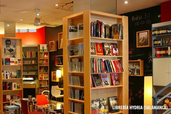 Librería Hydria (Salamanca): libros, música, cine, café