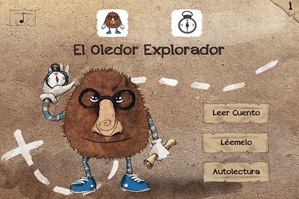 El Oledor Explorador, un cuento en formato app para niños con autismo