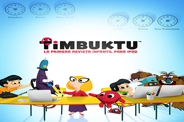 Timbuktu Magazine, un revista para niños en formato app
