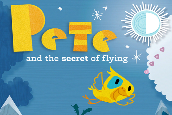 Lectura recomendada: Pete and the secret of flying