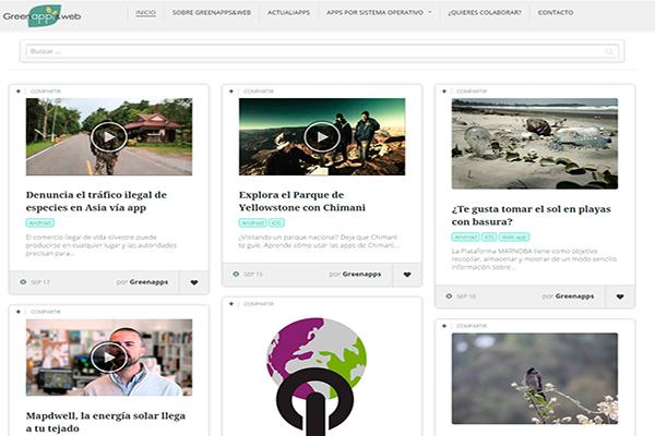 Greenapps&web, un buscador de apps medioambientales
