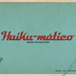 Haiku-mático, una app de creación de haikus