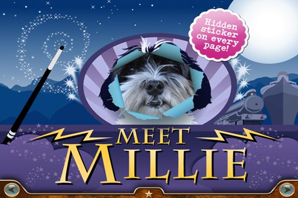 Las apps de Millie, la perrita aventurera