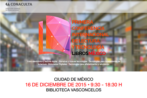 I Conferencia Internacional LibrosMéxico
