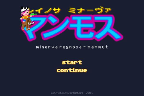 Poesía en forma de videojuego de 8 bits