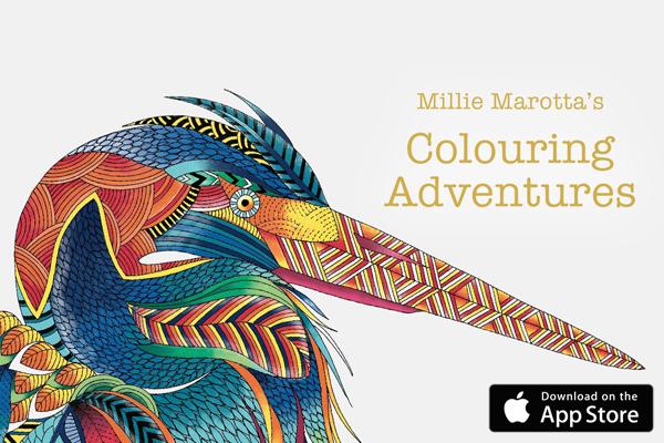 Los libros para colorear se convierten a apps