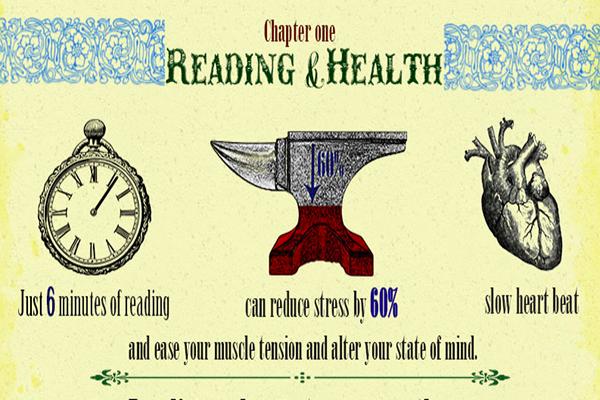 Leer seis minutos reduce los niveles de estrés