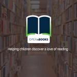 Open eBooks, servicio de contenidos digitales para familias sin recursos