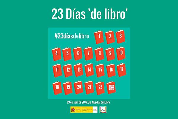 23 Días 'de libro', una campaña para celebrar el mes del libro