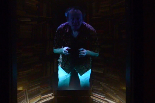 Hologramas narradores en las bibliotecas