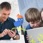 Monster Messenger, un servicio de mensajería segura para los más pequeños