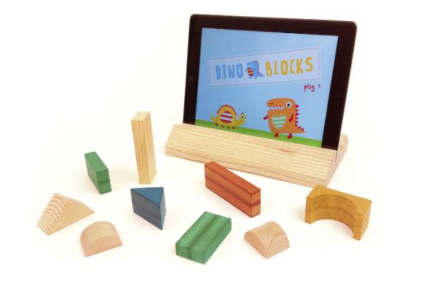 Magik Play, juegos para tablet con bloques de madera