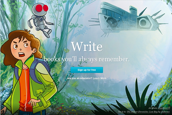 Escribir, leer, descubrir, compartir millones de historias