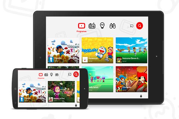 Contenido audiovisual seguro para niños