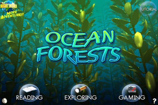 Una app sobre bosques submarinos