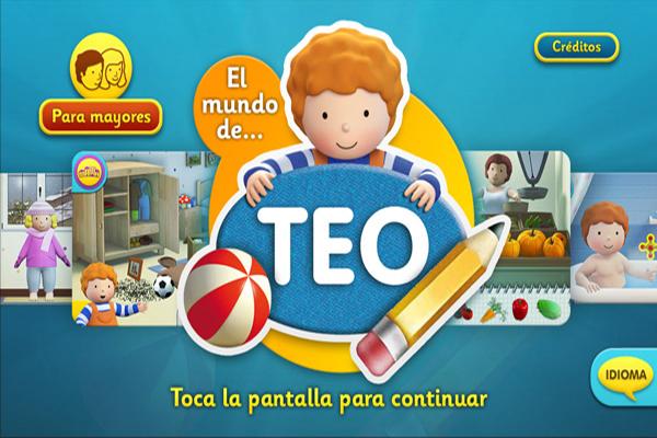 El mundo de Teo en formato app