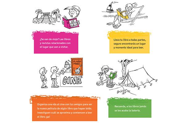 5 tips para favorecer la lectura en vacaciones