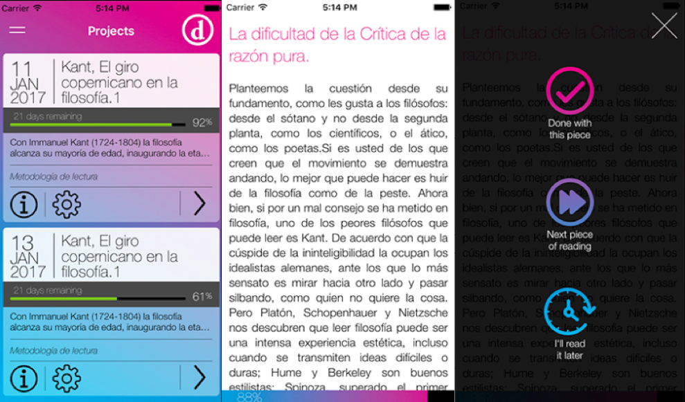 Una app que te ayuda con tus retos de lectura