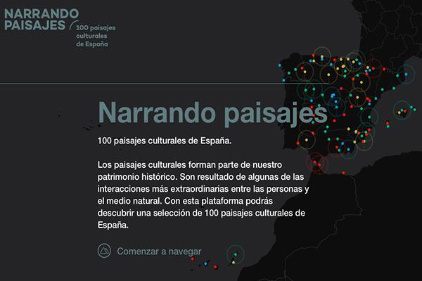 100 paisajes culturales España a vista de dron