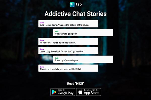 Wattpad se suma a la moda de las historias en formato chat