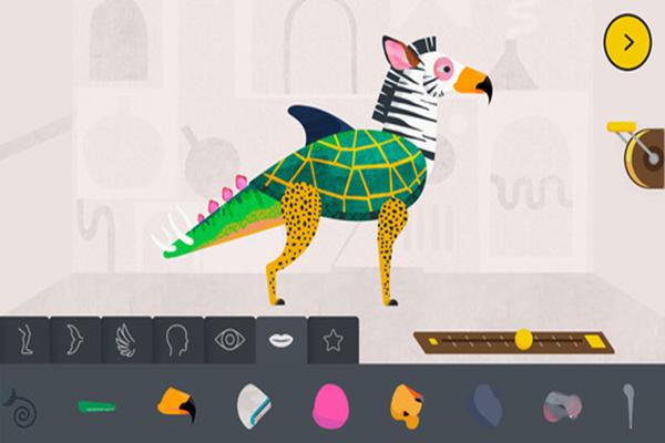Criaturas fantásticas que cobran vida con una app