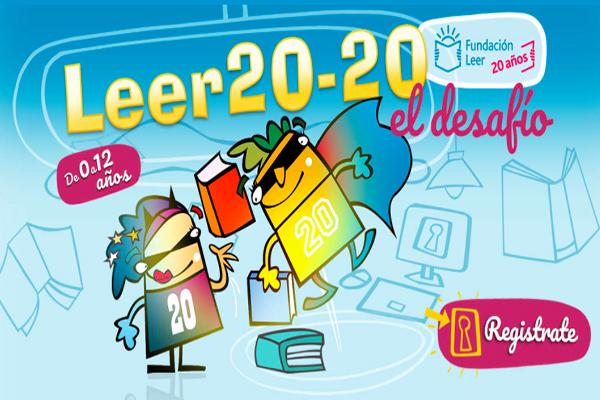 Desafío 20–20 de la Fundación Leer