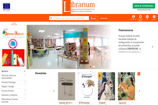 El préstamo digital llega a las bibliotecas escolares de la mano de Librarium