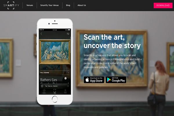 """Smartify, el """"Shazam"""" del mundo del arte"""