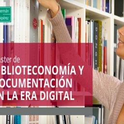 Máster en Biblioteconomía y Documentación en la Era Digital