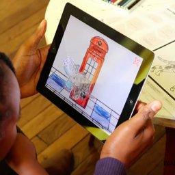 Animaciones personalizadas a partir de dibujos coloreados en papel