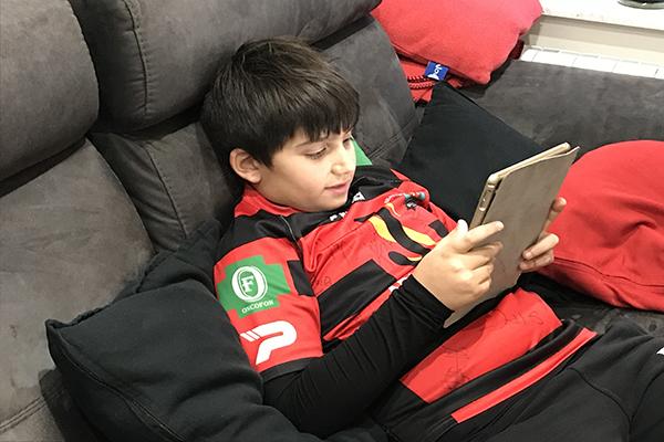 ¿Qué opinan los niños y niñas de la lectura digital?