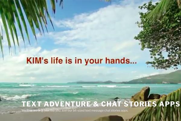 Kim Lifeline, más chat stories para niños