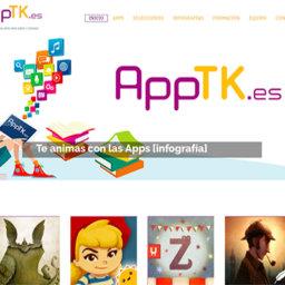 AppTK.es sigue creciendo y ofrece ya un menú de más de 300 apps