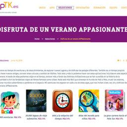 Disfruta de un verano APPasionante con nueva selección de AppTK.es