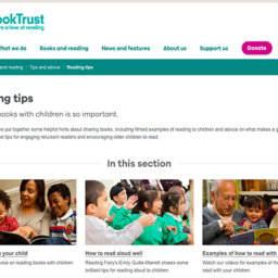 Reading tips: el interesante banco de recursos de BookTrust