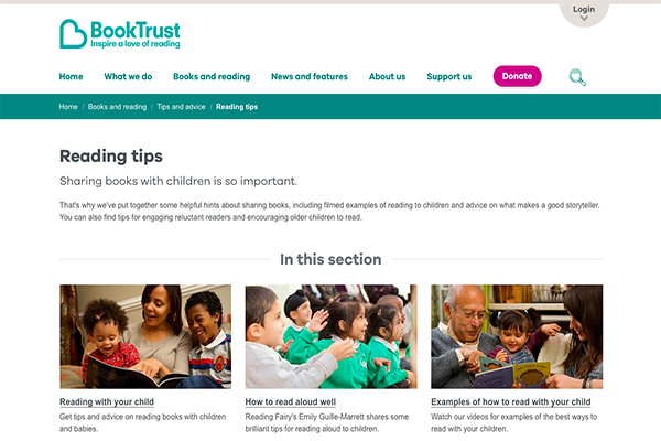 Reading tips: el interesante banco de recursos de BookTrust