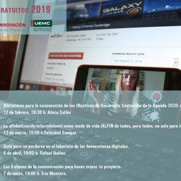 Webinars en abierto sobre biblioteca y tecnología