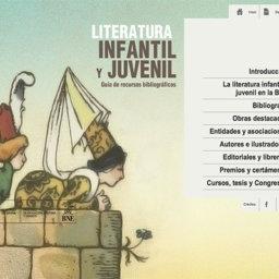 Guía de la Literatura Infantil y Juvenil de la BNE - Elisa Yuste. Consultoría en Cultura y Lectura