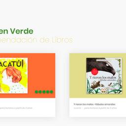 A todos nos gusta que nos cuenten historias, pero mejor en verde... - Elisa Yuste. Consultoría en Cultura y Lectura