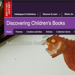 La historia de la literatura infantil en Discovering Children's Books