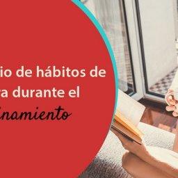 Hábitos de lectura y compra de libros de los jóvenes durante el confinamiento