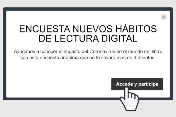 Encuesta sobre los nuevos hábitos de lectura digital