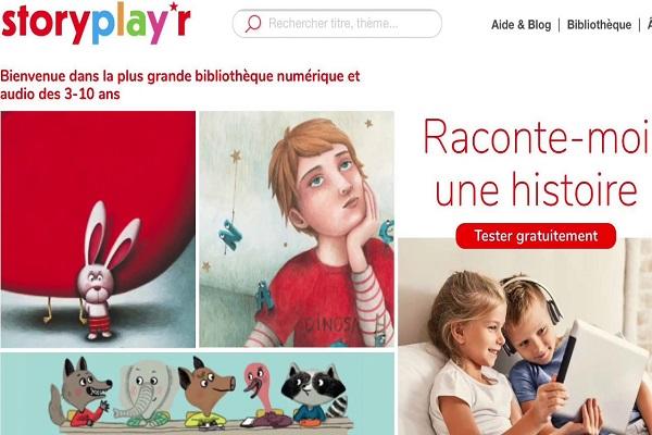 Storyplay'r, una biblioteca digital de libros y audios para niños