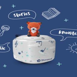 Storypod, un original altavoz interactivo para contar cuentos