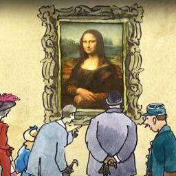 Obras de arte en forma de cuentos en formato vídeo