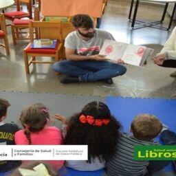 Salud entre Libros promociona la lectura en voz alta